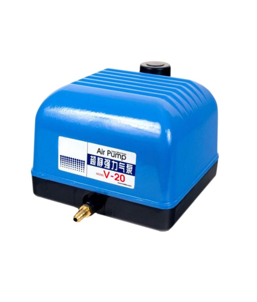 AquaForte Hi-Flow luchtpomp V-20 - 15 watt