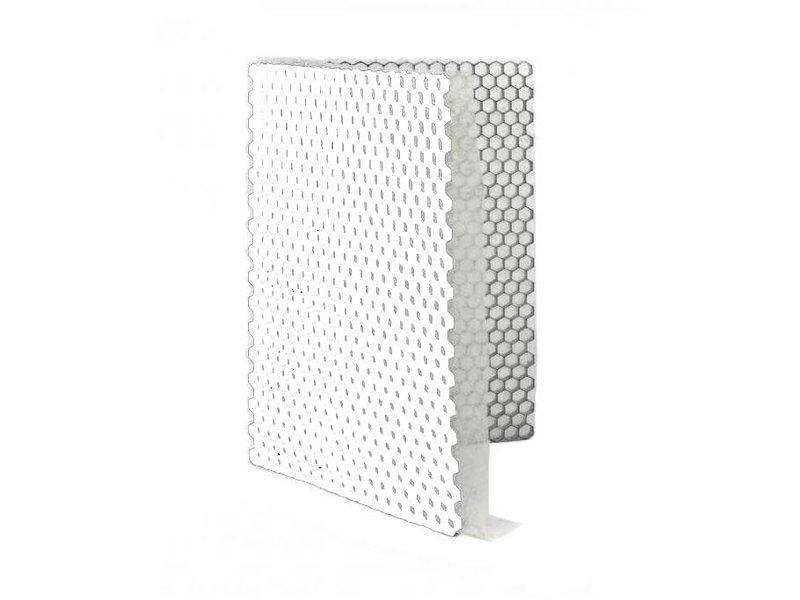 Grindplaat wit ECCOgravel 160 x 120 x 4 cm | Grindplaten
