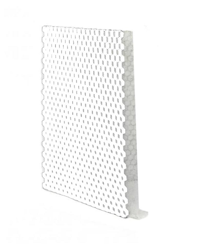 Grindplaat wit ECCOgravel 120 x 80 x 3 cm | Grindplaten