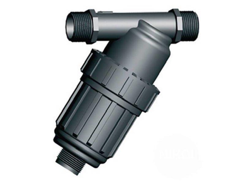 "PP Y-filter 1 1/4"" bu.dr. - max. 8 bar / 5 m³ | 125 micron"