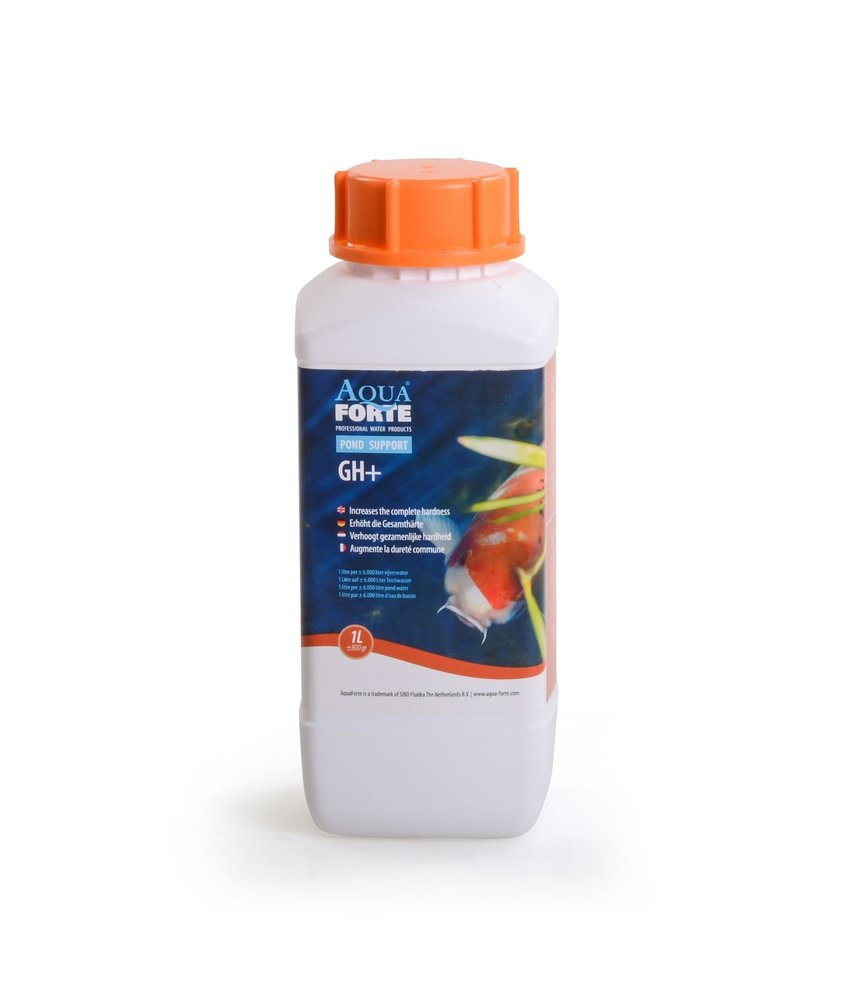AquaForte GH+ 1L gezamenlijke hardheid verhoger