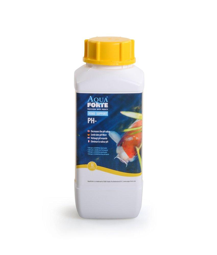 AquaForte Pond support PH+ 1 liter