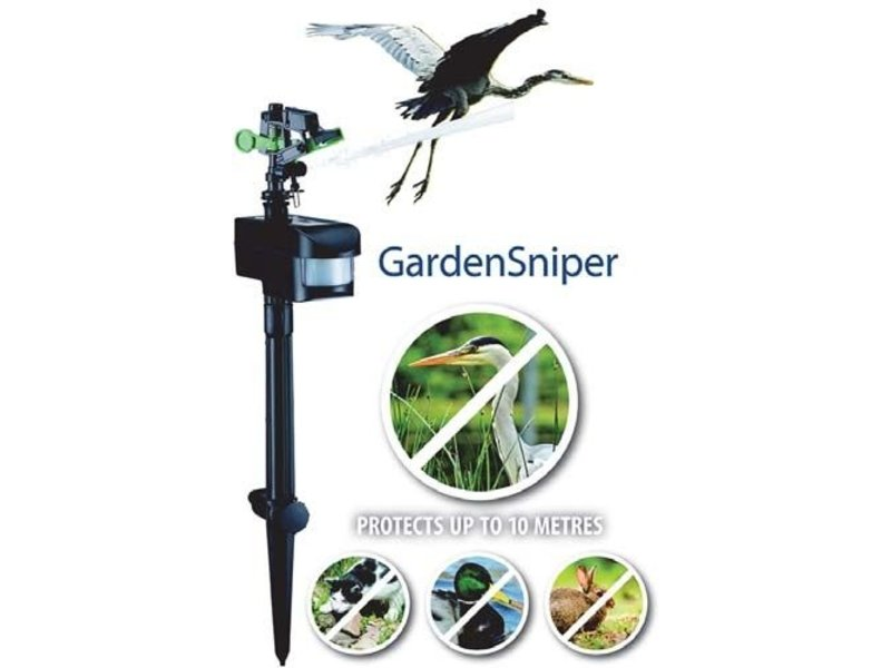 AquaForte GardenSniper reigerschrik