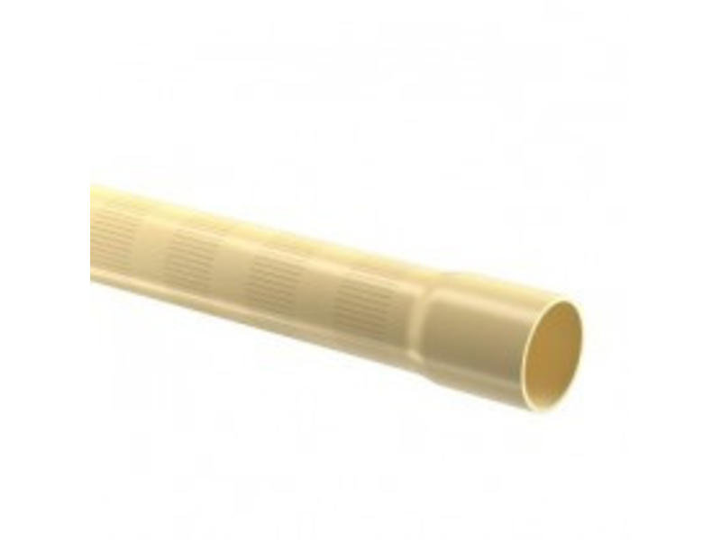 PVC filterbuis Ø63 mm 12,5 bar, 0,3 MM perforatie 2,5m,  L = 5