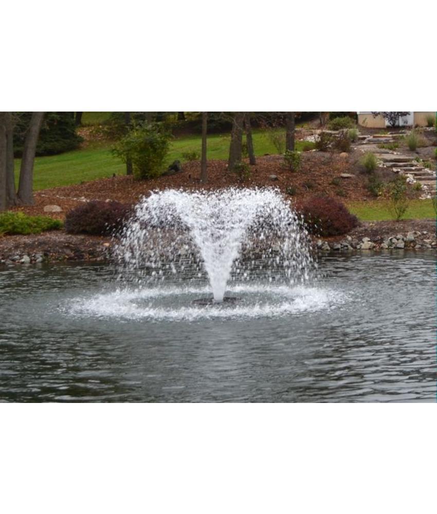 Otterbine Fractional drijvende fontein - beluchter 230V