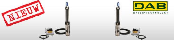 DAB S4 M 230V bronpomp 4'' kit standaard