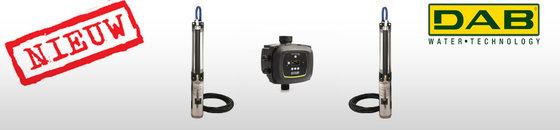 DAB S4 T 400V bronpomp 4'' kit + Active Driver bediening