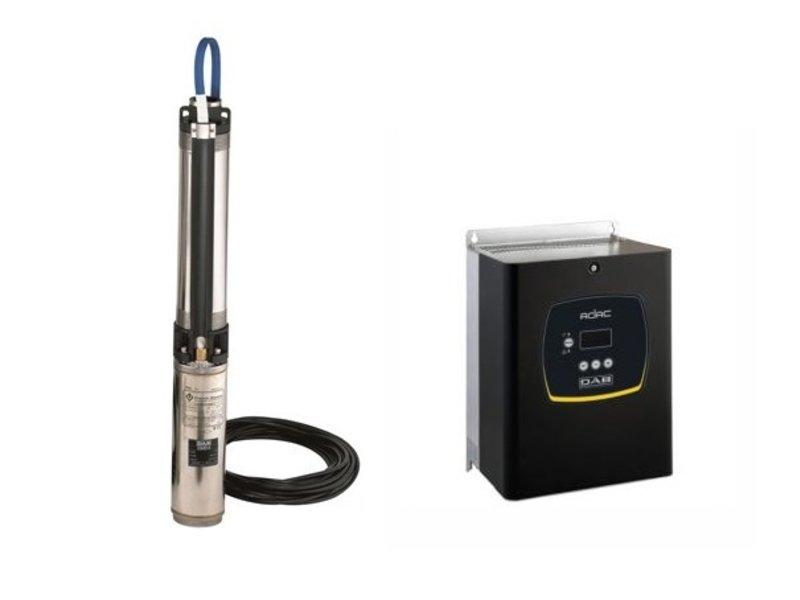 DAB S4 16/29 7.5HP KIT T400/50 4OL bronpomp set + DAB ADAC frequentieregelaar T/T 5,0 AC