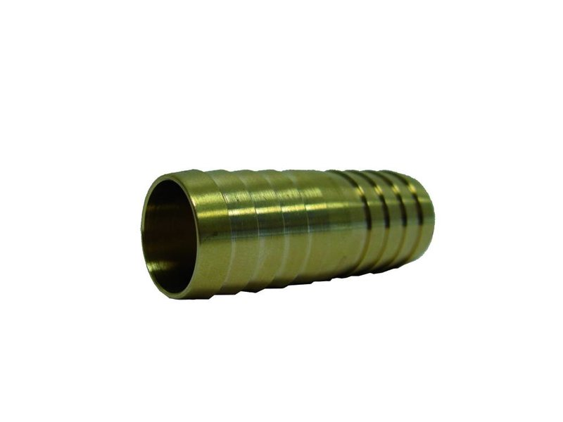 32 mm messing slangkoppeling 2 x slangtule