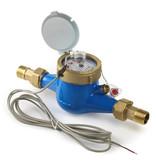 watermeter met impulsgever 1 1/4'' Qmax = 12 M3/per uur