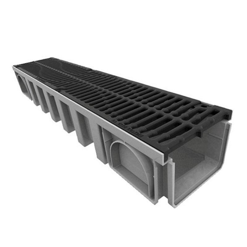 Nicoll Connecto 200 lijngoot met gietijzeren sleufrooster L 100 x H 14,3