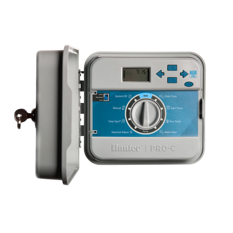 Hunter Pro-C 4 stations outdoor controller