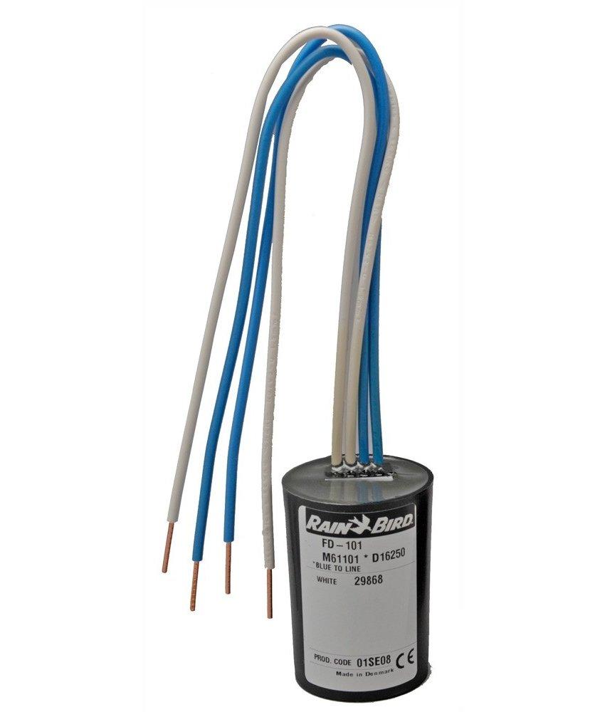 Rainbird FD-401 decoder met 4 uitgangen / 1 magneetklep per station