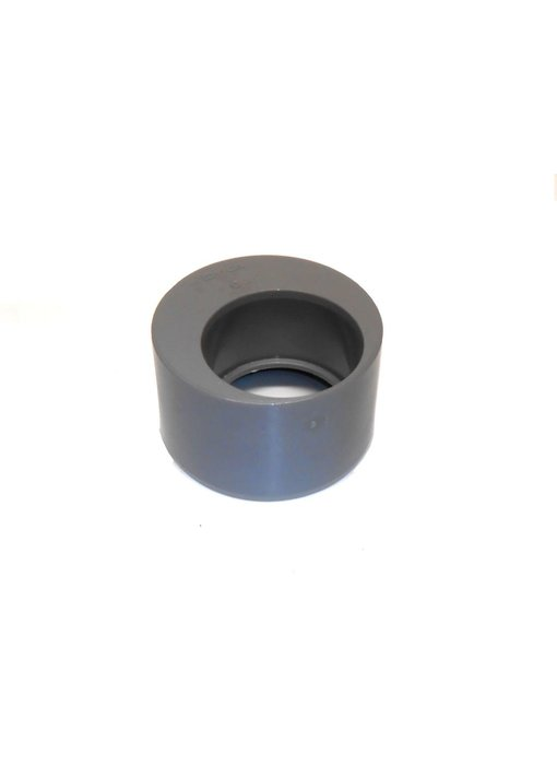 PVC Verloopstuk excentrisch 110 x 75