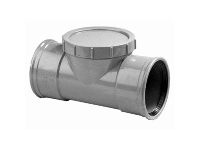 PVC ontstoppingsstuk SN4 mof/mof Ø125
