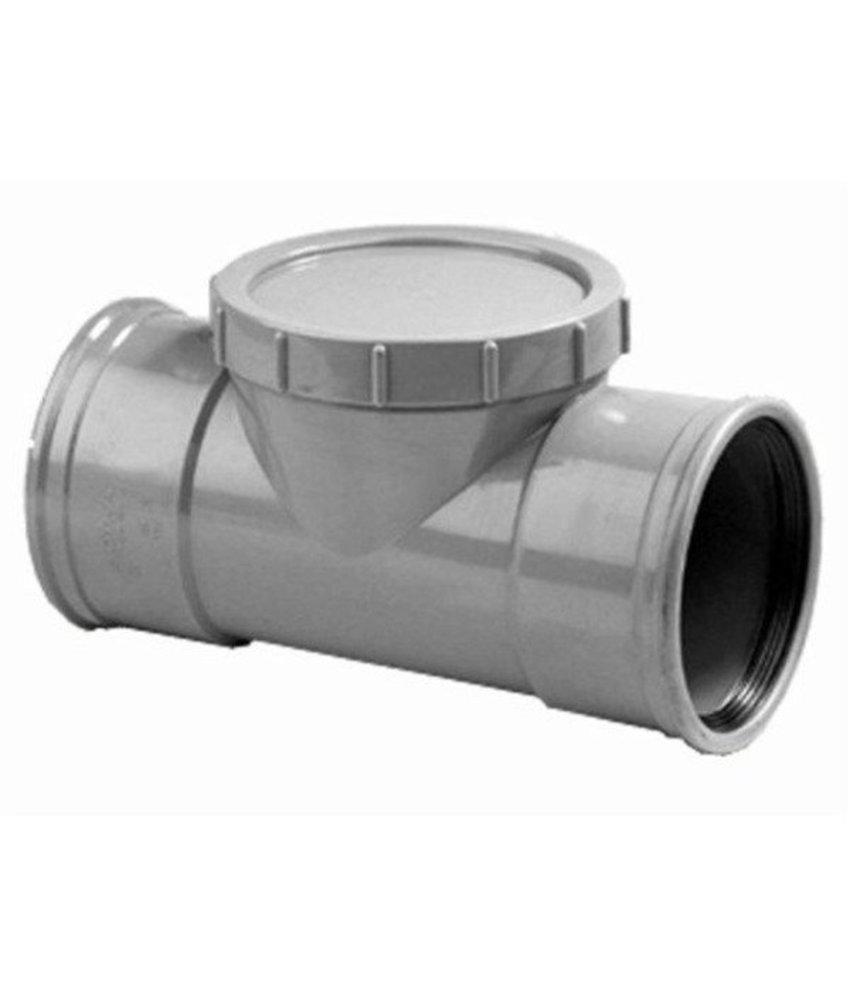 PVC ontstoppingsstuk SN4 mof/mof Ø160