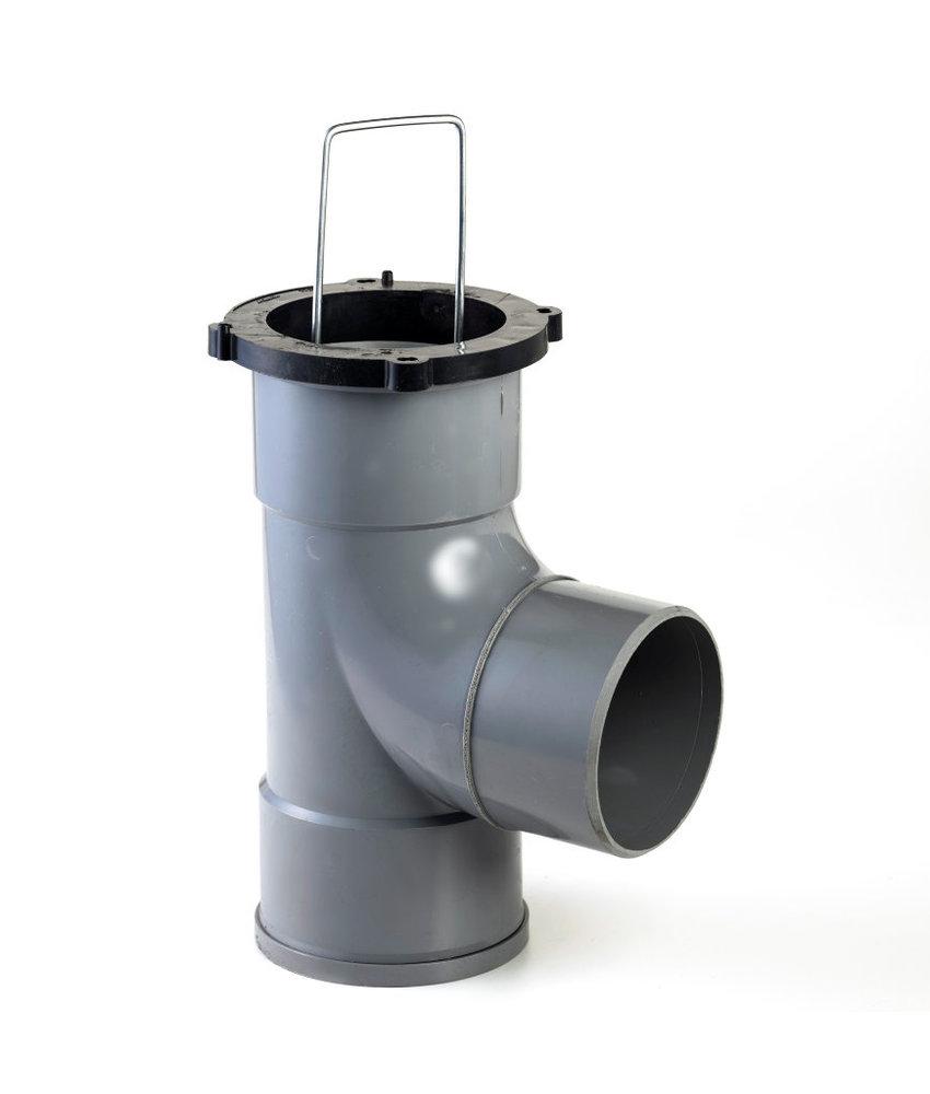 Nicoll zandvanger 110 mm - 360 ° draaibaar - inbouwhoogte 30 cm