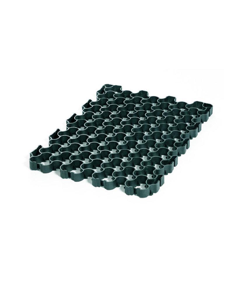 Grastegel HD Flex 40 grijs groen - 80 x 60 x 4 cm   Grasplaat