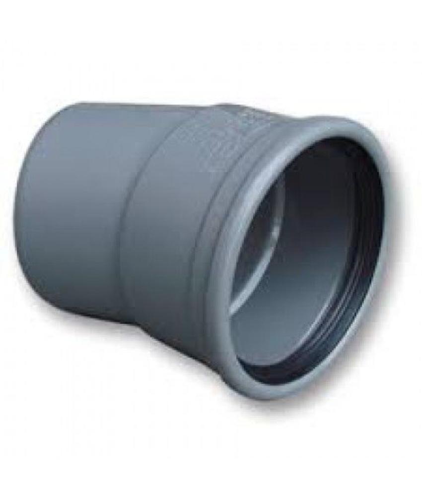 PVC Bocht 15gr 160mm, SN4 mof/spie