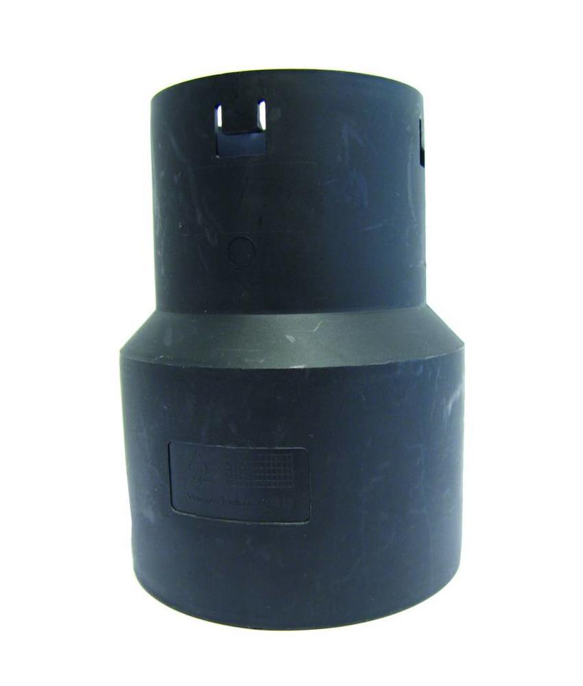 PP Drainage verloopstuk Ø 100 x 125mm (DRAIN/PVC)