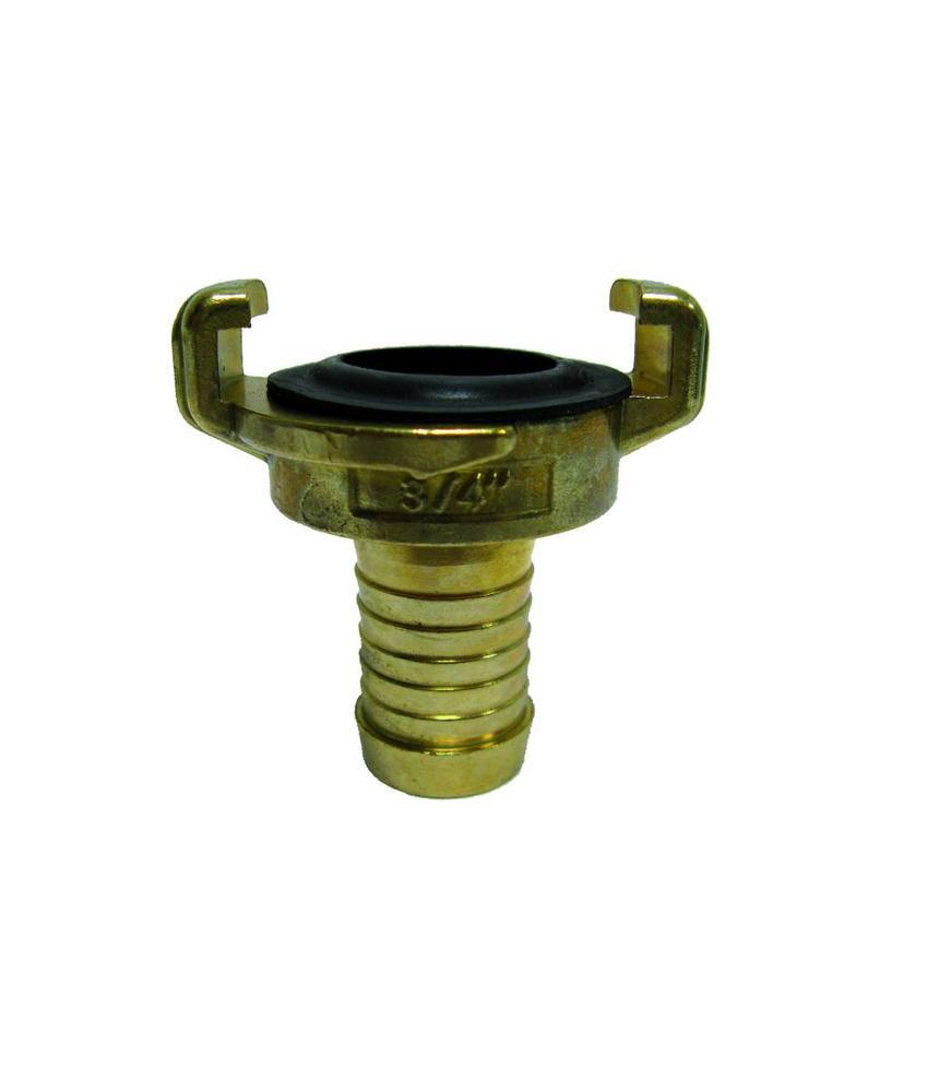 Geka slangkoppeling 20 mm met slangtule