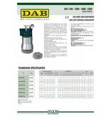 DAB DIG 1500 T-NA 400V RVS dompelpomp