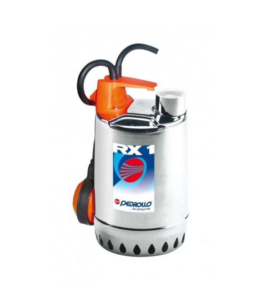 Pedrollo RXm 1 RVS dompelpomp zonder vlotter