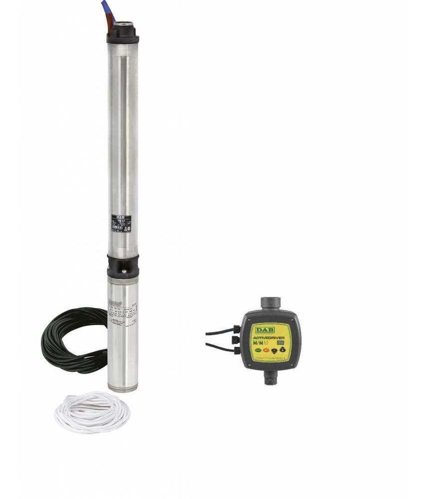 DAB S4C 9T KIT 400 volt bronpomp set - Active Driver T/T 3.0