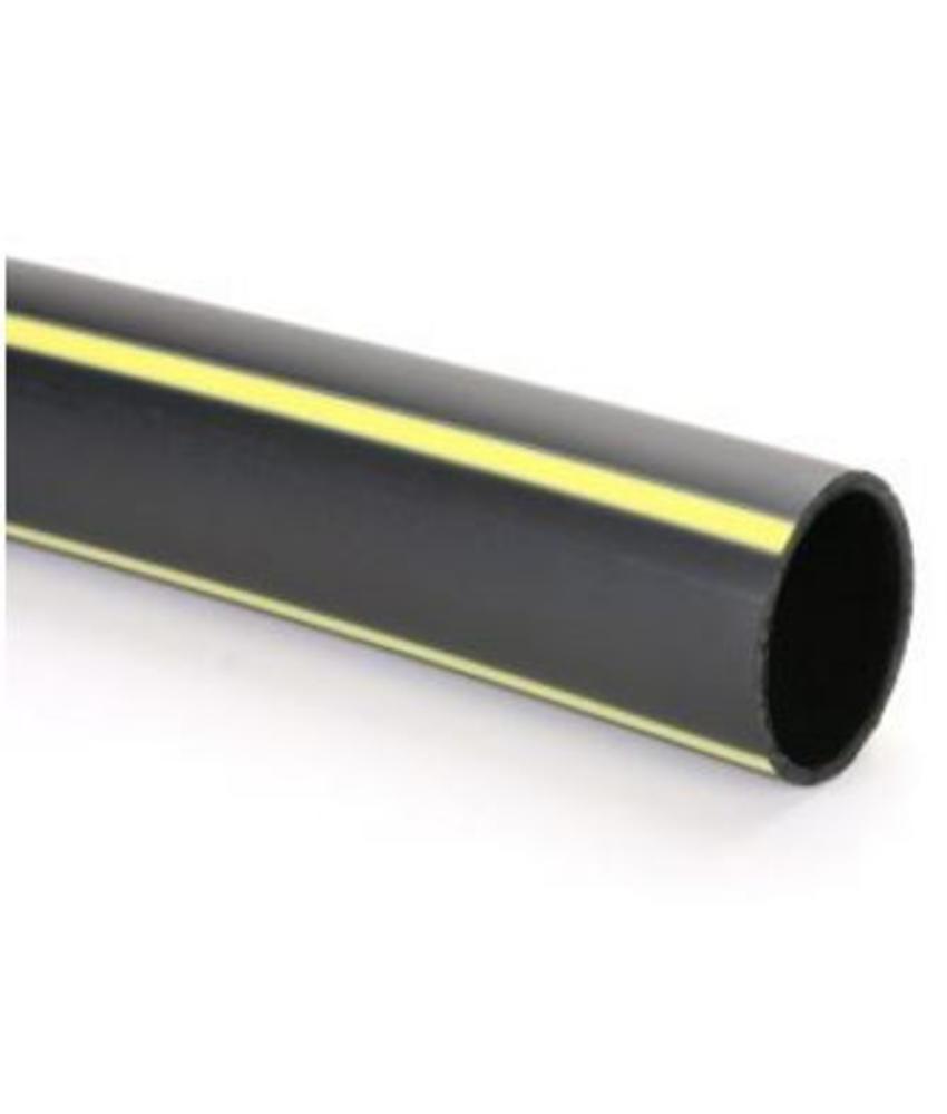 PE gasleiding SDR 11 gastec Ø 25 mm L = 50 meter