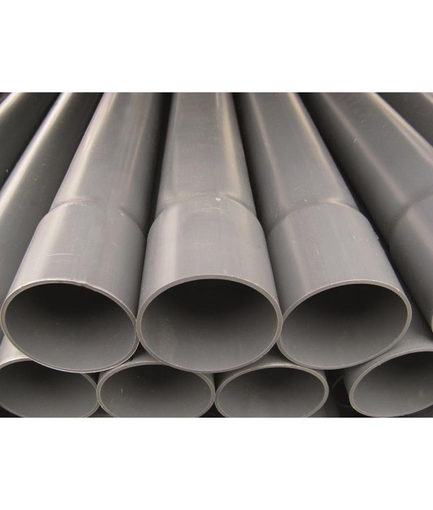 PVC drukleiding ongekeurd Ø 125 L= 5 meter, PN 10