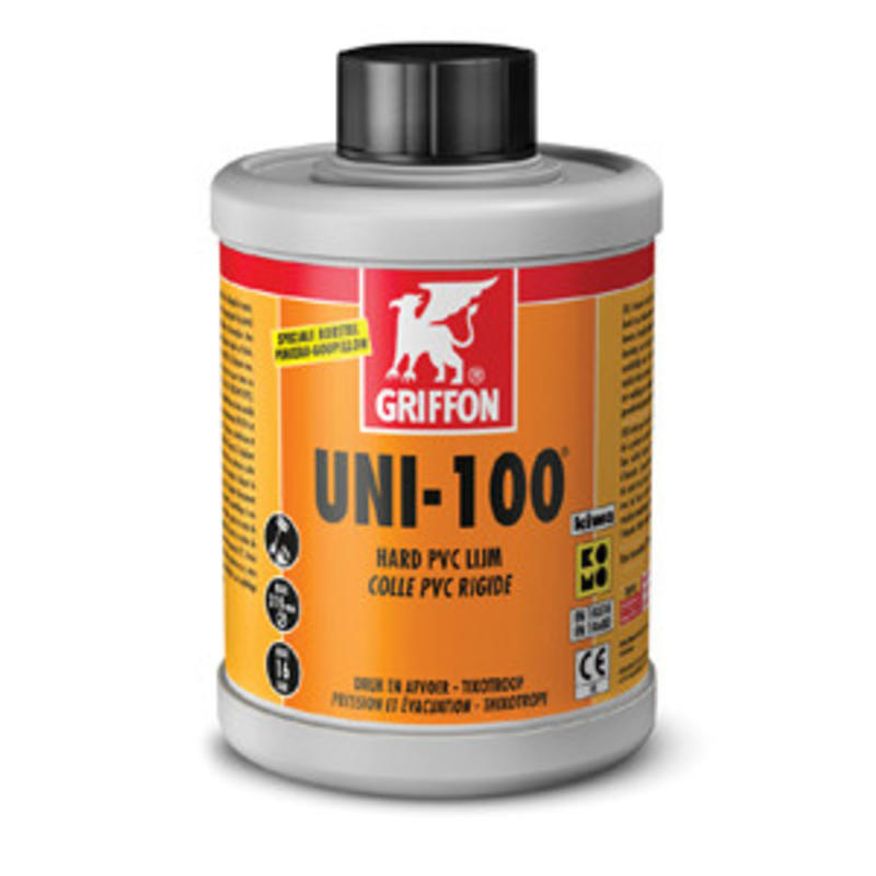 Griffon Uni-100 PVC lijm 250 ml