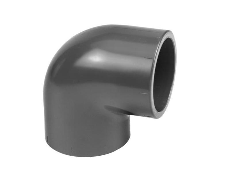 VDL PVC knie 90 graden Ø 50 mm, PN16
