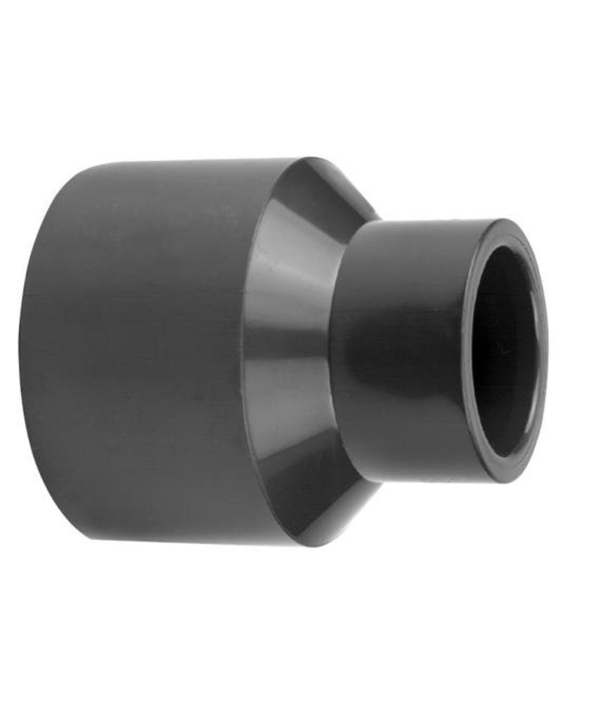VDL PVC inzet verloopsok 90/75 x 50 PN16