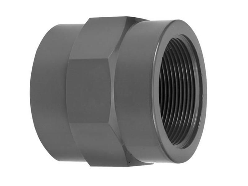 VDL PVC draadsok 32 mm x 3/4'' PN16