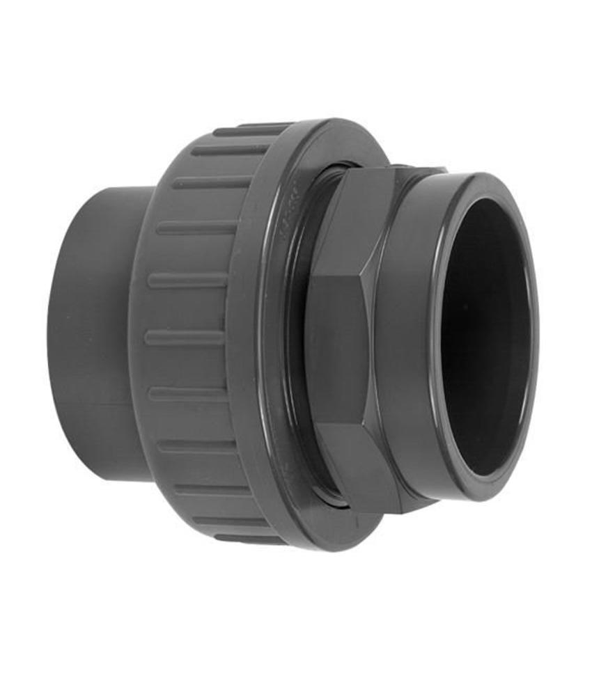VDL PVC drie-delige koppeling lijmverbinding 75 mm