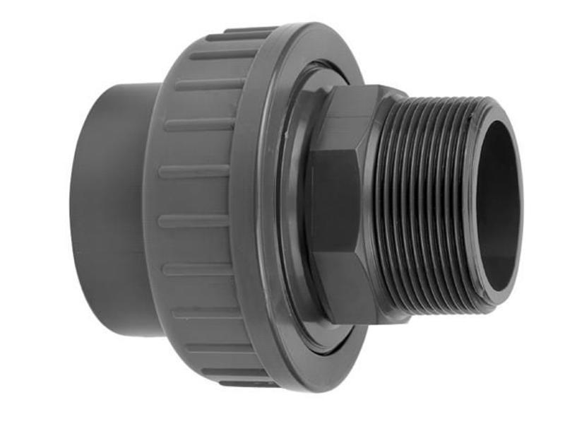 VDL PVC koppeling 32 x 1'' koppeling lijm- en buitendraadverbinding