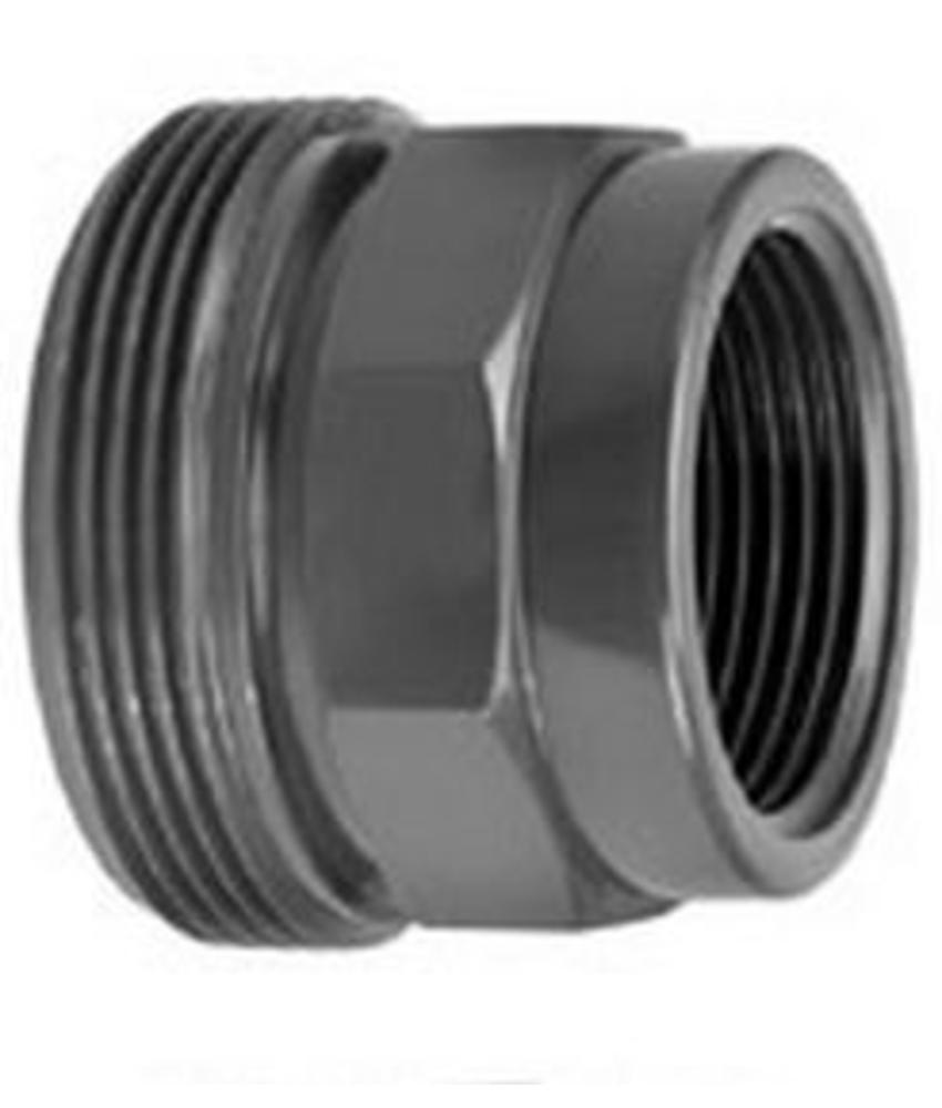 VDL PVC 2 1/4'' x 1 1/2'' draadeind buitendraad x binnendraad
