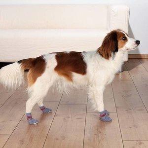 Trixie Honden Sokken grijs