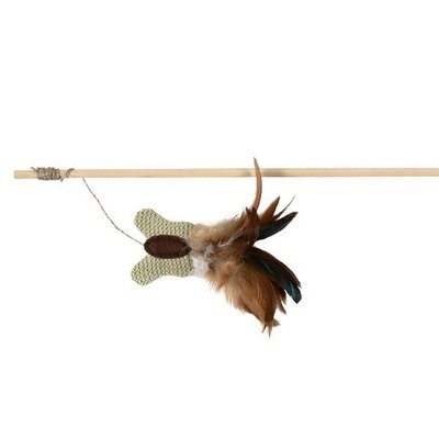 Trixie Speelhengel Jute Vlinder