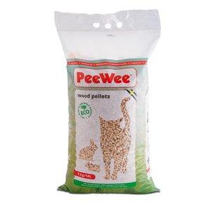 PeeWee Houtkorrels Kattenbakvulling 9 KG