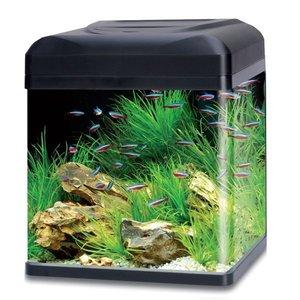 HS Aqua Aquarium Lago 40 LED zwart