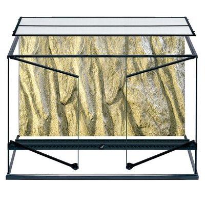 Exo Terra Glazen terrarium incl. achterwand 90x45x60cm