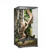 Exo Terra Glas Terrarium regenwoud 45x45x90cm incl. achterwand