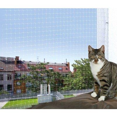 Trixie Bescherm Net voor Balkon transparant