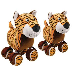 KONG Hondenspeelgoed Tennisshoe Tiger