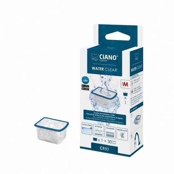 Ciano Filter Water Clear medium CF80 blauw