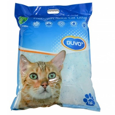Duvo+ Silica Kattenbakvulling 16 Liter