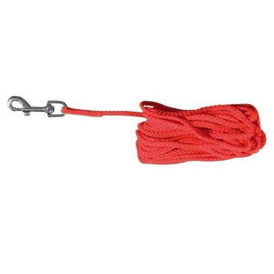 Trixie Lange lijn nylon rood