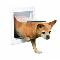 Trixie Hondenluik Small wit 25 x 29 cm