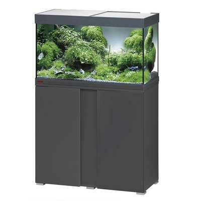 Eheim Aquarium Set Vivaline 126 LED grijs/eiken